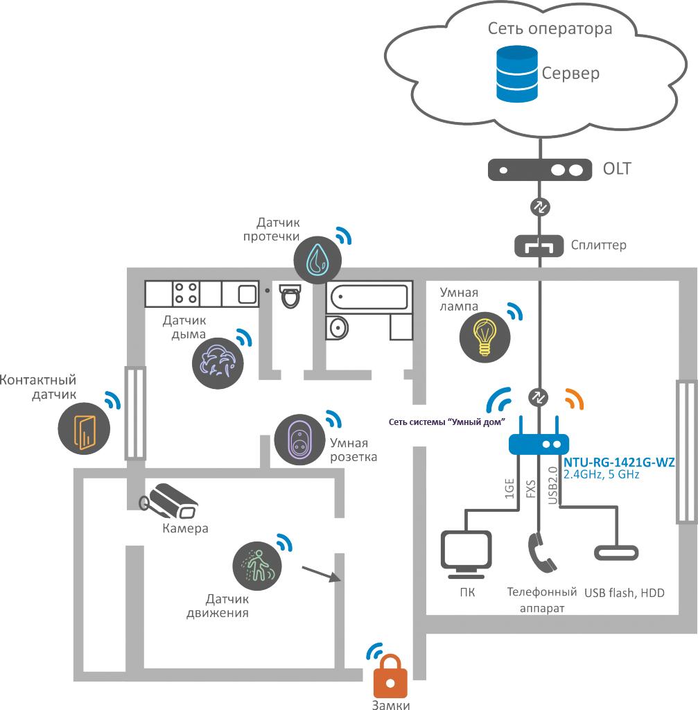 Схема применения с NTU-RG-1421G-WZ.jpg